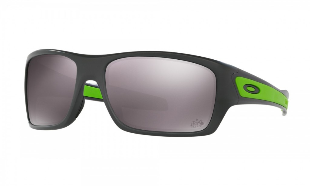 Oakley Turbine Matte Dark Grey Prizm Daily Polarized