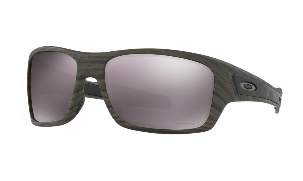 Oakley Turbine Woodgrain Prizm Daily Polarized