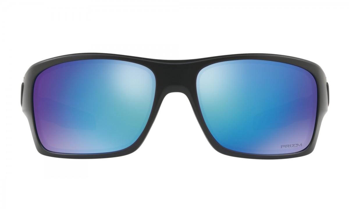 43e5071e9 Sluneční brýle Oakley Turbine Matte Black Prizm Sapphire Polarized.  oo9263-36 · 009263-36 ...