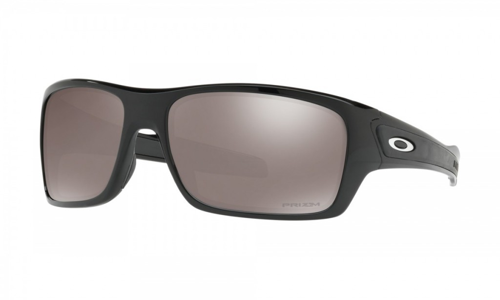 Oakley Turbine Polished Black Prizm Black Polarized