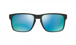 Oakley Holbrook Polished Black Prizm Deep H2o Polarized