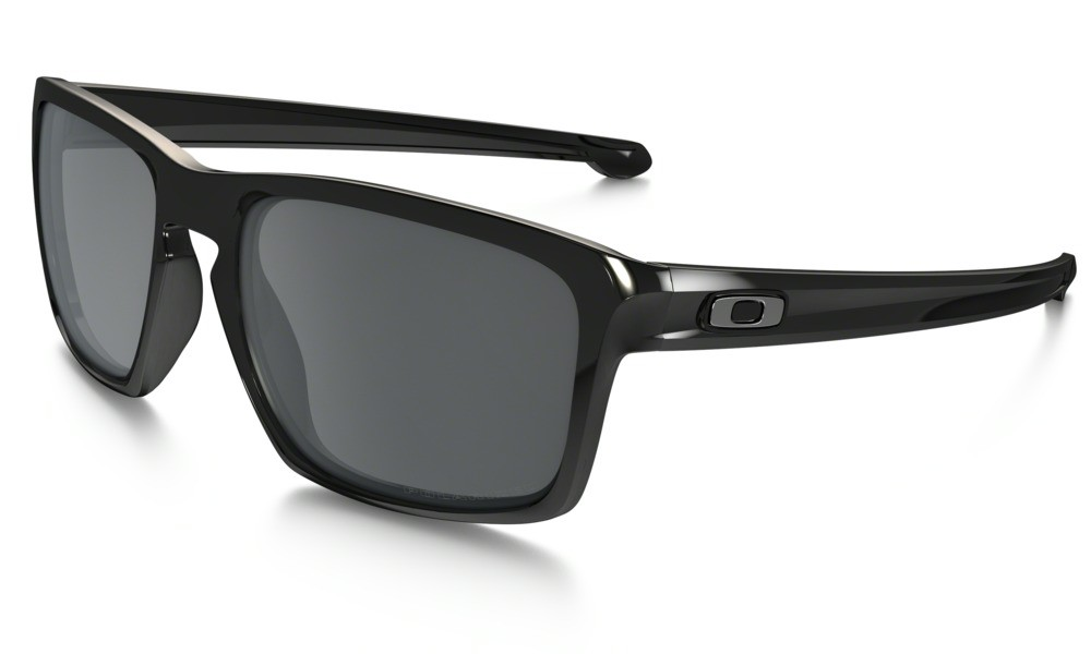 Oakley Sliver Polished Black Black Iridium Polarized