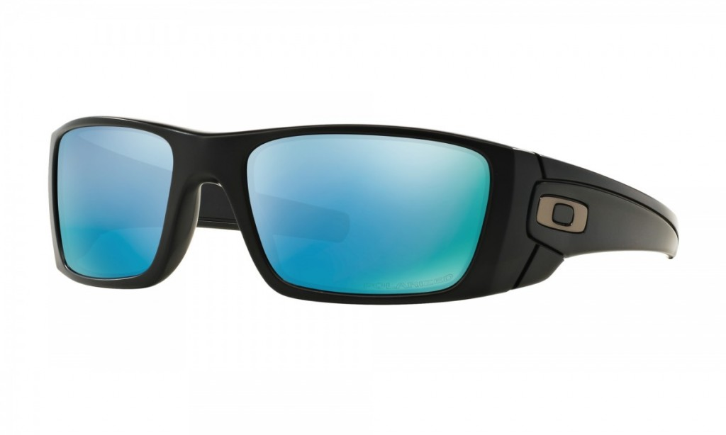 Oakley Fuel Cell Matte Black Prizm Deep Water Polarized